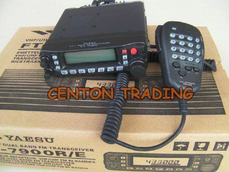 Двухдиапазонный радио Yaesu FT-7900R 50 W электропитание увч / укв 1000 CH любительское FT7900R автомобиль радио