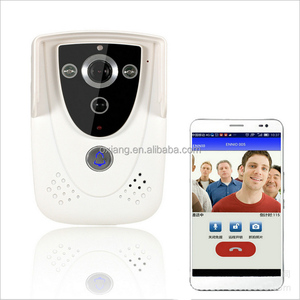 HD 720P Wifi Wireless Video Door Phone Doorbell Intercom With GSM function waterproof IP55 Remote Network Home Building