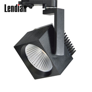 Plastic Round 20W 4 Degree Led Track Lighting