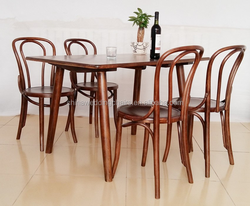 restaurant chairs wood dining thonet chair