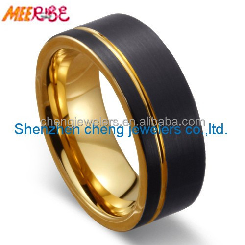 from rings the decor alternative ring ideas made gallery bands hypoallergenic wedding firefighter metal traditional to engagement durable