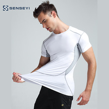 Custom Hot Sale Pressure Garments Compression Tights Shirt for Basketball , Running
