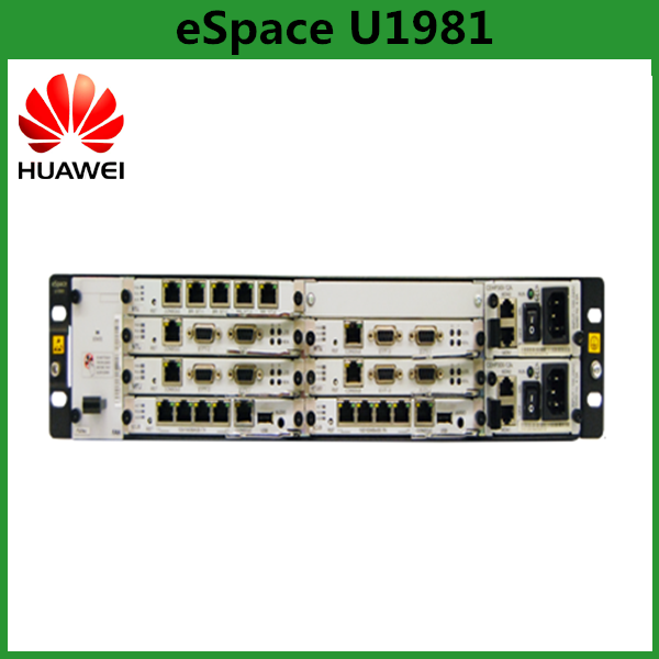 China Supplier Huawei eSpace U1981 IP PBX System With 60 FXO Unified Gateway