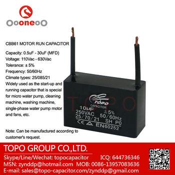 fan capacitor cbb61 3 5 uf buy fan capacitor cbb61 2. Black Bedroom Furniture Sets. Home Design Ideas