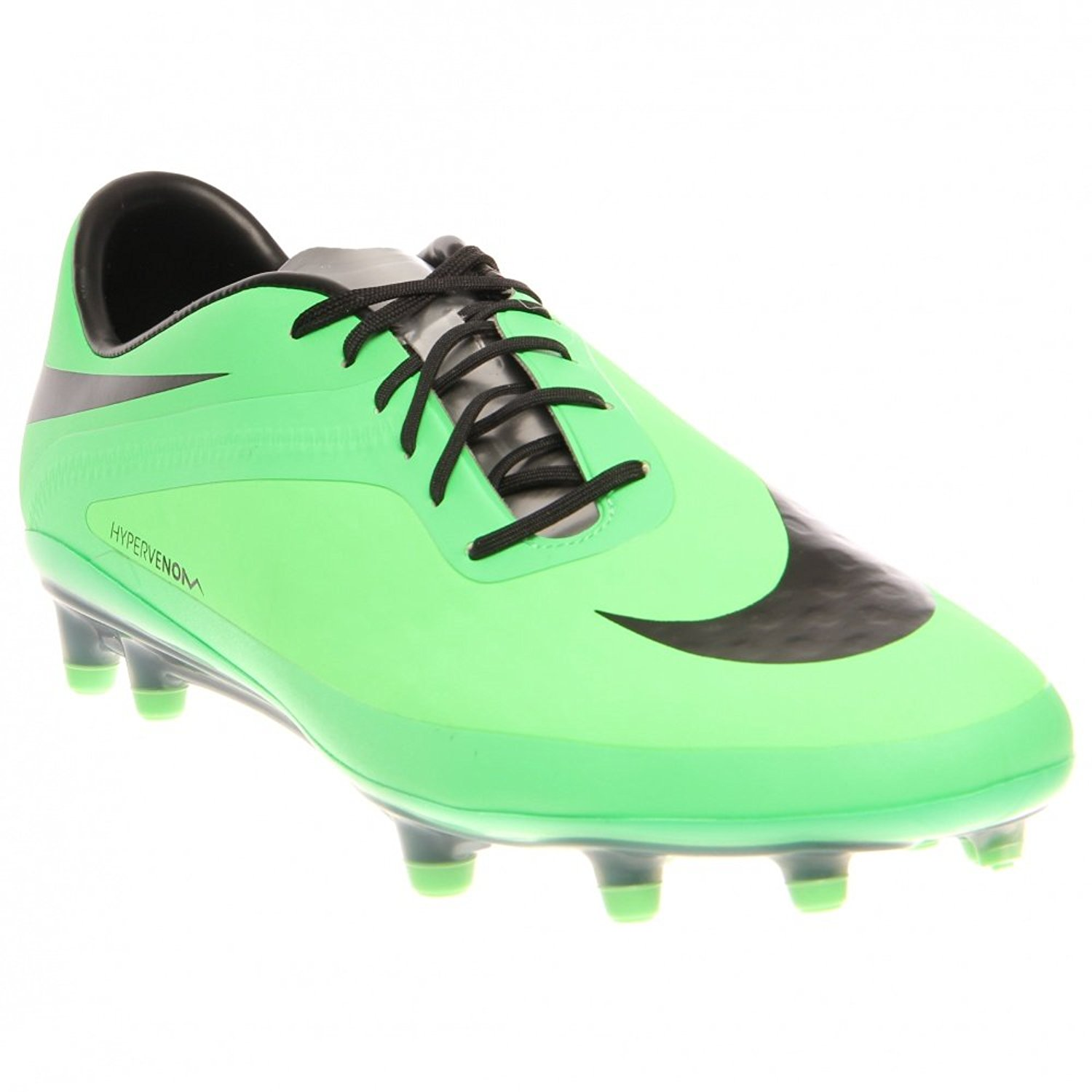 0fb758bf6ae Get Quotations · Nike Hypervenom Phatal FG - Neo Lime Total Crimson Black
