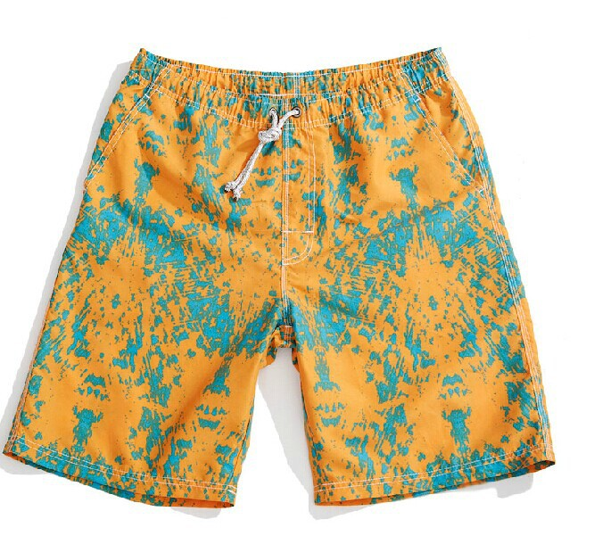 OEM&ODM Colorful polyester mesh Lightweight Surfing printed beach Shorts