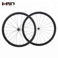 HRD025T OEM China Factory Light Weight Carbon Wheel Set for 700c Road Bike