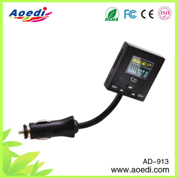 Best selling!!for iphone 5 fm transmitter,rechargeable fm transmitter,gsm fm transmitter of AD-913