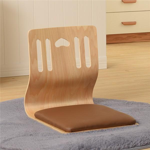 2019 Japanese Zaisu Chair Leather Cushion Seat Asian