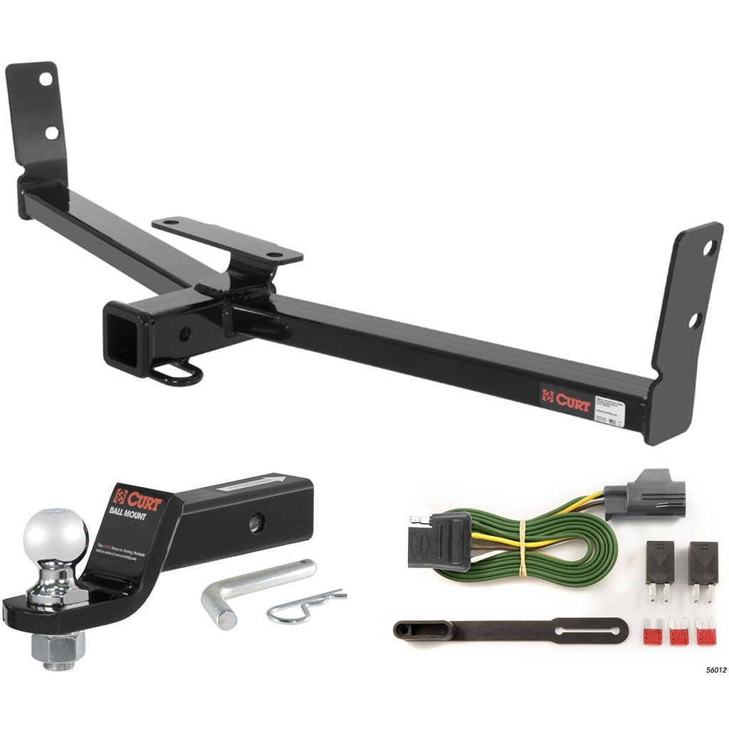 "Get Quotations · CURT Class 3 Trailer Hitch Tow Package with 2"" Ball for  2007-2008 Suzuki"