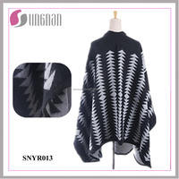 2015 Winter Europe and America Bohemian Imitated Cashmere Cloak Scarf
