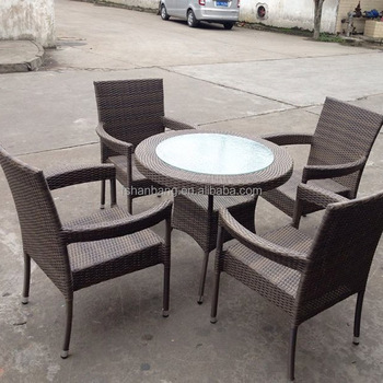 Mimosa Outdoor Furniture Australia 5 Piece Resin Wicker Table Chair Set