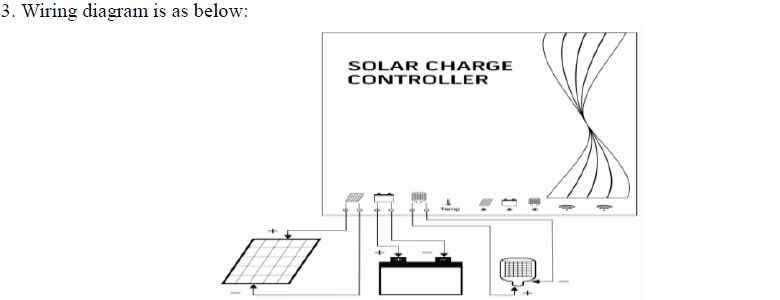 12v24v Solar Traffic Light Charge Controller