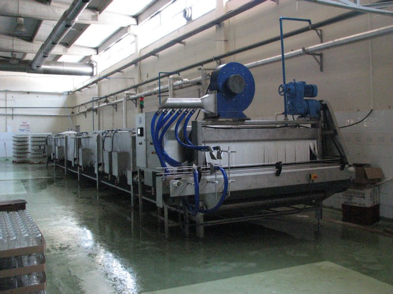 Pasteurization Tunnel