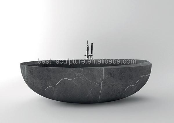 Vasca Da Bagno Disegno : Disegni nero pietra egg forma bagno vasca da bagno vasca da bagno