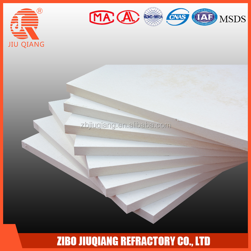 heat resistant ceramic fiber board for outdoor electric log fireplace