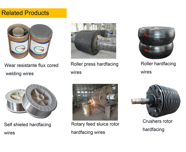 High quality chromium carbide flux cored wire for factory