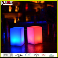 nightclub bar table used LED table lamp/battery powered LED night lamp with 16 colors glowing