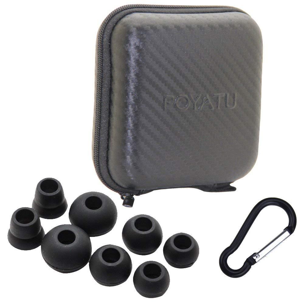 6c529d3d5b4 Get Quotations · Poyatu Hard Case + Earbuds Eartips Sets for Powerbeats3  Powerbeats2 Powerbeats 2 Wireless In-Ear