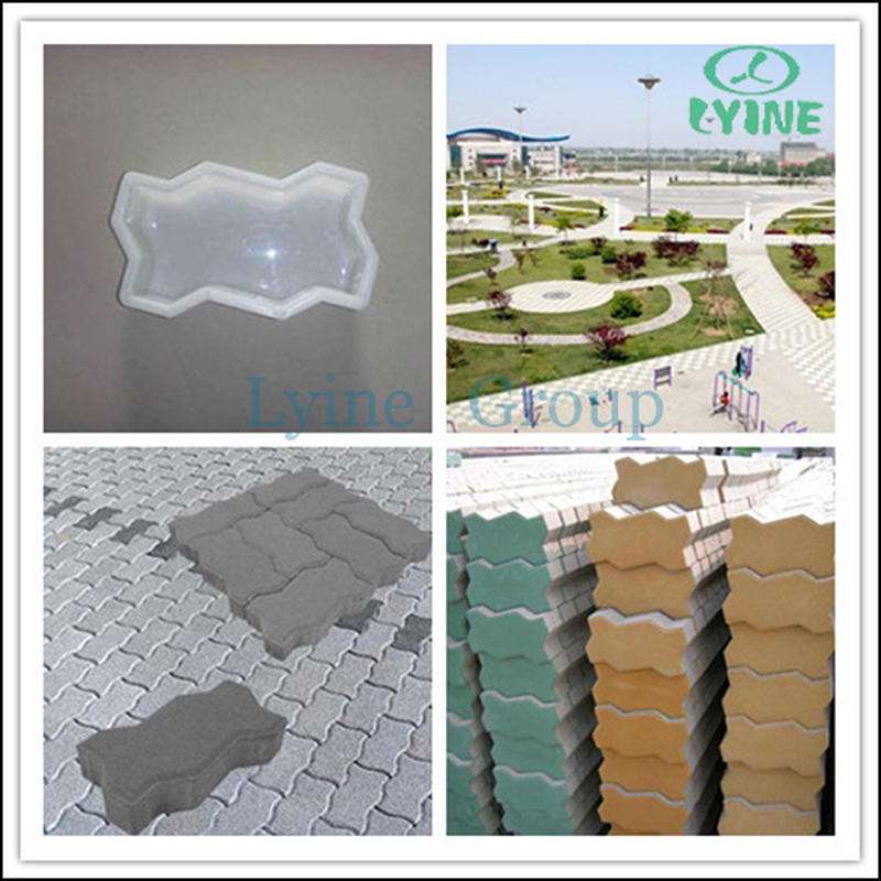 Factory Direct Sales Quality Assurance China Leading Plastic Molds For Make  Interlock Concrete Paver - Buy Plastic Mold,Concrete Mold,Interlock Mold