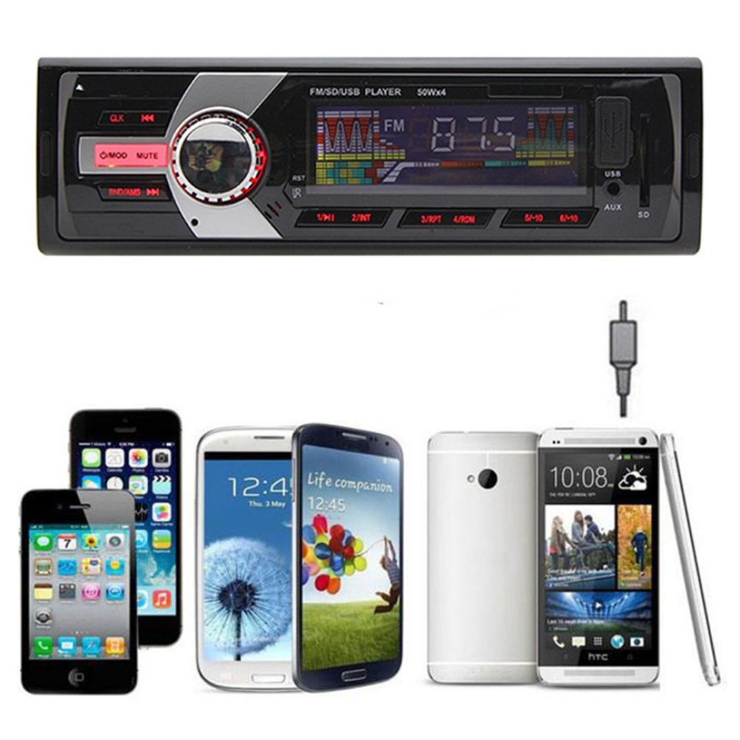 GBSELL New Car Radio Stereo In-Dash MP3 Music Player FM USB SD AUX Input Receiver