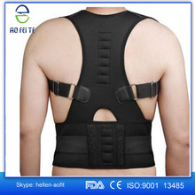 China Alibaba Magnetic Posture Support Corrector Body Back Pain Feel Young Shoulder Belt Brace Adjustable (L)