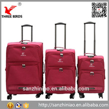 Baigou China Carry-on 3 Pieces Trolley Lugage Set,Promoptional Portable bag luggage