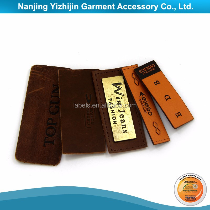 Attractive Price Garment Leather Patch Made in Yizhijin