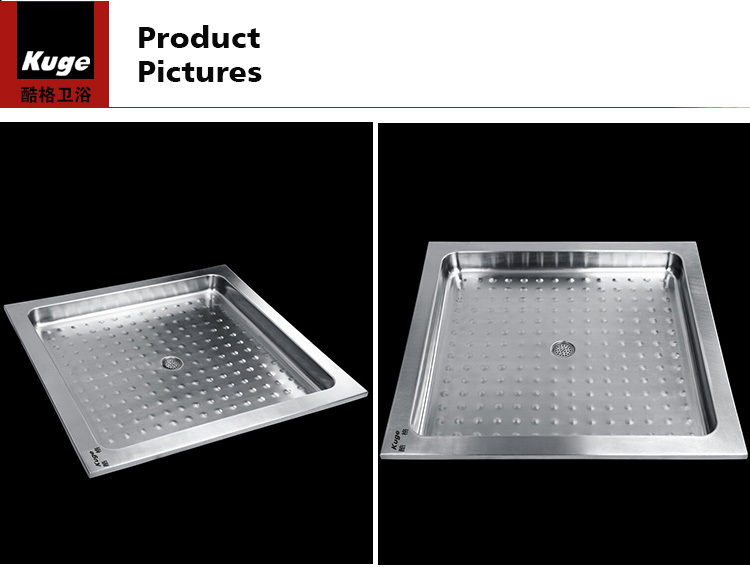 Hot Sale Stainless Steel Bath Drain Cover Deep Shower Tray Buy