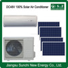 Off grid 12000BTU 18000BTU dc compressor GMCC 48V USA split wall solar power central air conditioning