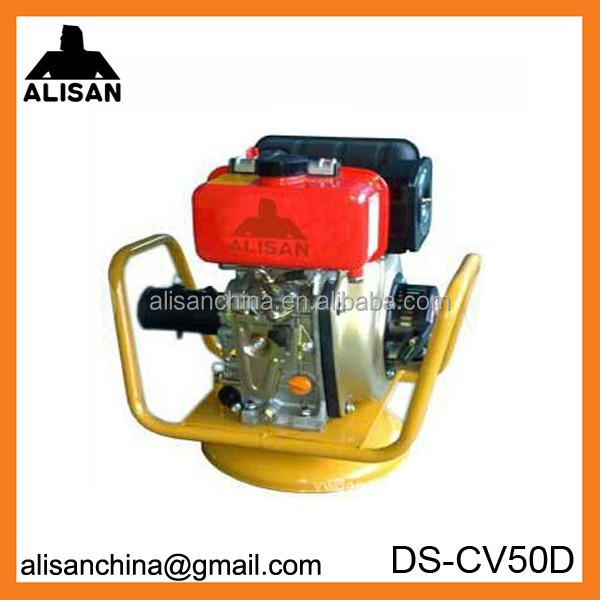 diesel engine 170F 4HP road concrete vibrator