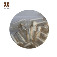 pre closed hard shell medical packing vegan vegetarian quick dissolving water soluble capsules