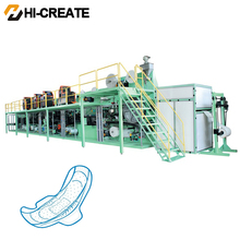 HC-SN High-speed packages sanitary pads making machine