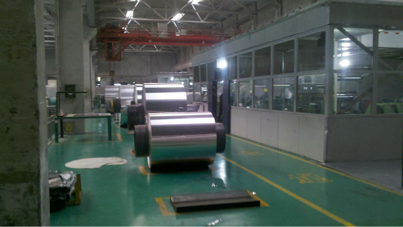 aluminum coils for cathodes of cooper
