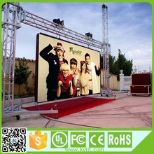 Good visual effect full color p10 led video display board