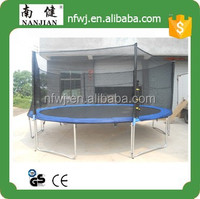 superb big round china trampoline with enclosure and ladder,4.88M 16FT