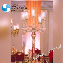 Gorgeous wedding decoraiton crystal candelabra table lampZT-101T