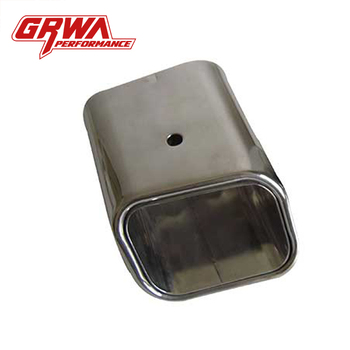 Grwa Modified Car Exhaust Square Exhaust Tips For Amg