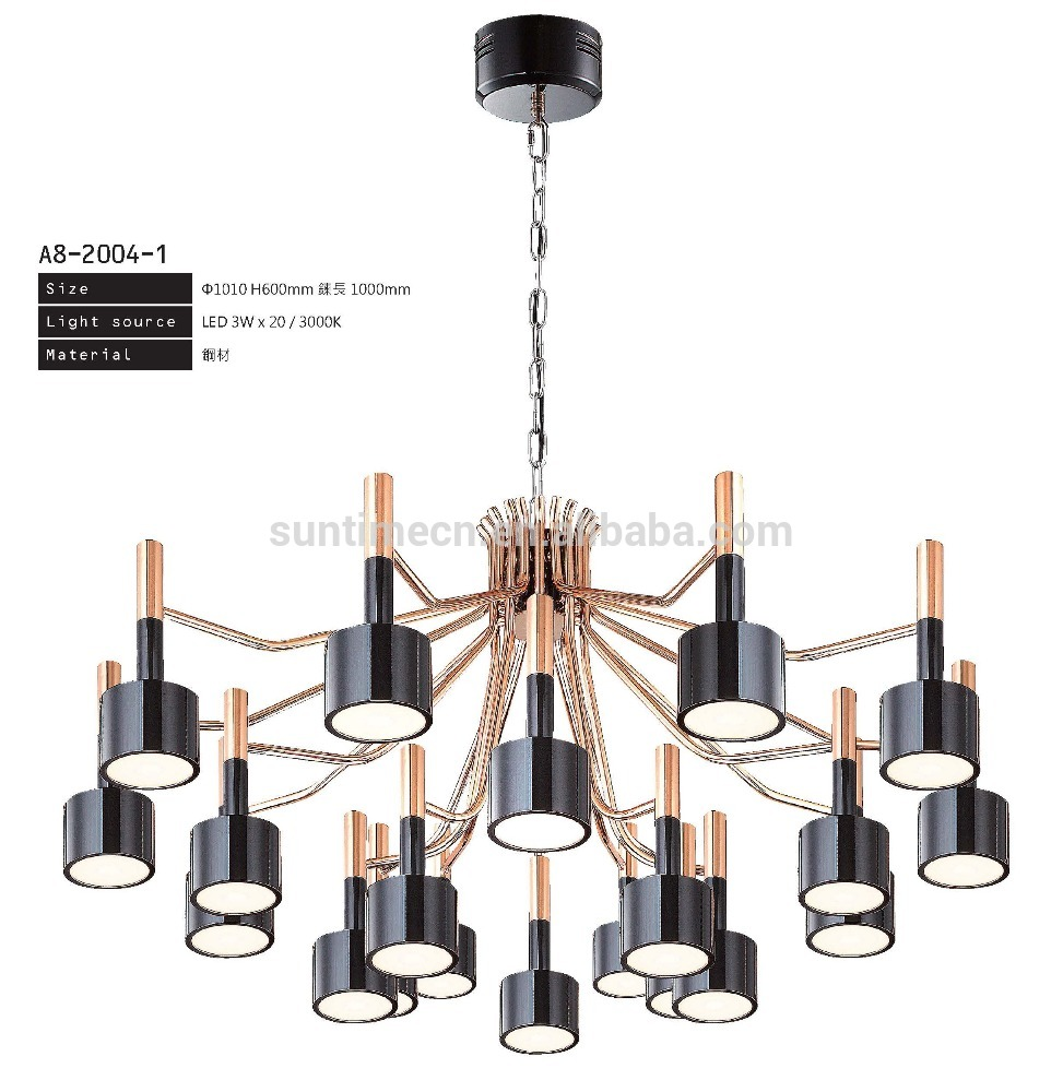 Good Sealed crystal chandelier lamp for wedding with cheap price