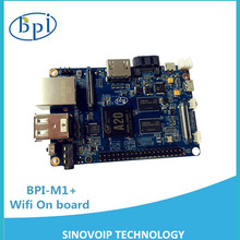 The best single board computer use A20 ARM chip have Wifi and Bluetooth support Android,Ubuntu and Raspberry Pi