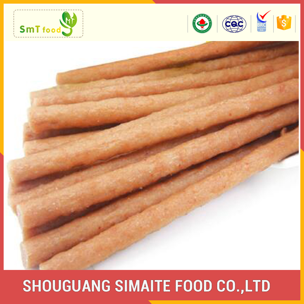 High-quality typical taste healthy dry pet foods stick sausage series
