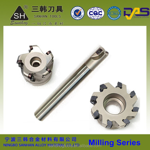 Hard Alloy cnc metal cutting tools milling tool holders milling cutter manufacturer in China