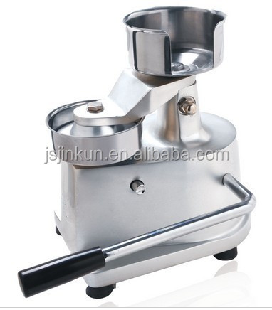 JKH-100 burger presse/hamburger patty presse maker/burger patty, die maschine