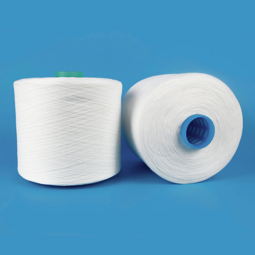 High Temperature Resistant low shrinkage spun polyester yarn factory