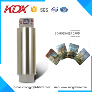 3d lenticular business card from 3D Lenticular plastic factory