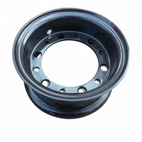 Customized split wheel rims used to forklift parts tyre 4.00E-9