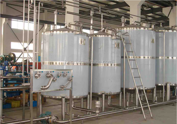Stainless Steel Tank Industrial Food Mixer Heated