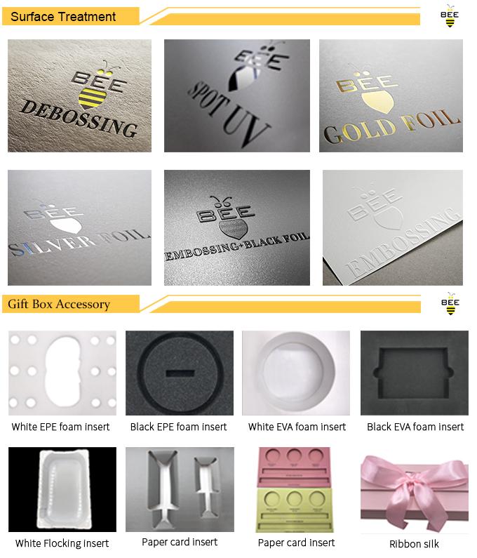 Özel el yapımı özelliği ve karton kağıt tipi hediye kutusu lüks mat özel hediye kutusu kadın kozmetik ambalaj kutusu