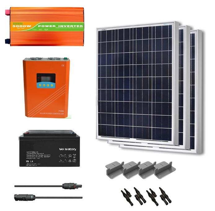 Factory whole sales 10kw off grid pv system smart home system/off grid concentrated pv power system