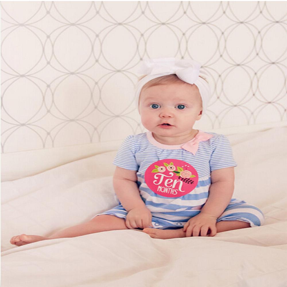 Beb pegatinas mensual pegatinas para las ni as beb mes for Pegatinas pared nina